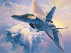 F-22 Raptor (Shigeo Koike)