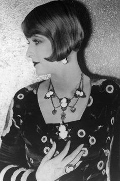 Style icons of the 1920s - Claire Windsor  Silent film star Claire Windsor's regal looks led her to frequent castings as upscale society women. Her roles, coupled with elegant on and off-screen style, cemented her status as a fashion icon.