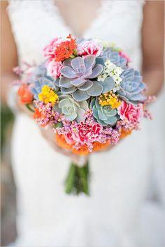 Mexico flora inspired boquet