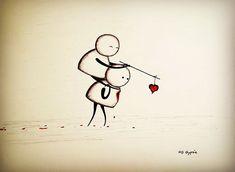 Tem gente desse jeito iludido por um amor que não existe. amor-muerte-comics-gypsie-Raleigh-10
