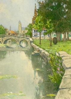 Henri Cassiers - Le charme de Bruges #3