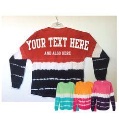 Custom Tie Dye Pom Pom Jersey Personalized Tie-Dye by LabelStop