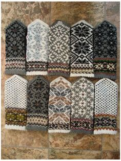 Knit Mittens, Knitting Socks, Hand Knitting, Knitting Patterns, Knitted Mittens Pattern, Fingerless Mittens, Hat Patterns, Loom Knitting, Stitch Patterns