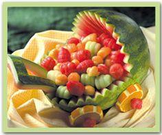 Kinderwagen aus Melone