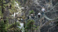 In Alta Valle Susa, al confine con la Francia, il ponte sospeso più lungo del…