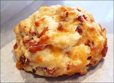 bacon cheddar biscuit more cheddar muffins bacon nuff bacon recipes ...