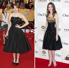Slightly different Alexander McQueen dresses, both so gorgeous!