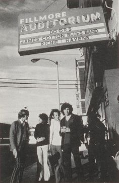 The Doors at San Francisco's Fillmore Auditorium--I saw them at the University of Maryland at College Park, Maryland in 1970!!