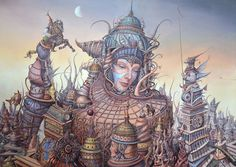 Dream Factory: Surreal Paintings by Tomek Setowski | Faith is Torment | Art and Design Blog