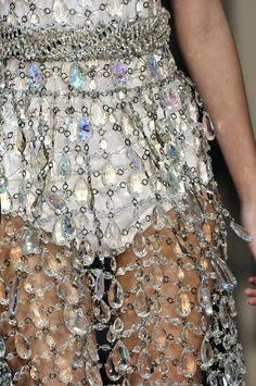 SPARKLES!  Prada at Milan Fashion Week Spring 2010 - StyleBistro