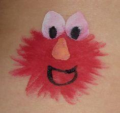 Elmo Face Paint               mb