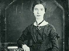 Daquerrotipo de Emily Dickinson, 1846.  Amherst College Archives and Special Collections