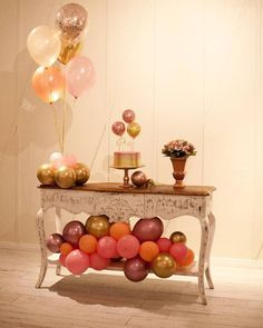 Simple Birthday Decorations, Birthday Girl Pictures, Eid Party, Bday Girl, Birthday Table, Confetti Balloons, Backdrops For Parties, Holidays And Events, Party Themes