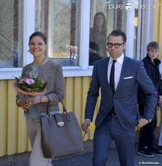 princesse Victoria et le prince Daniel de Suède