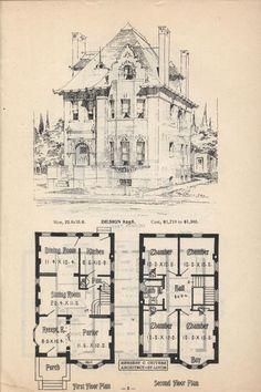 Artistic city houses, no. 43