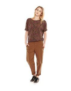 FW15 // WOMEN BASIC COLLECTION - Kophop pants - Fall Winter Collections - Women - Essentiel Antwerp online store