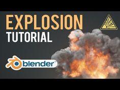 Blender explosion tutorial - YouTube