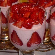 Erdbeermousse von Benesch | Chefkoch.de