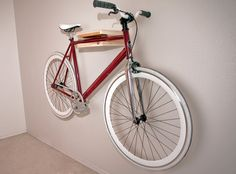 Elevate Bike Rack - Cedar/birch