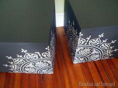 Chalkboard End Table Cubes {Sawdust & Embryos}