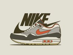 Air Max 1 by Julian Burford