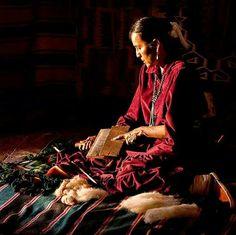 Carding Wool Native American Women, Native American Indians, Native Americans, Navajo Weaving, Navajo Rugs, Navajo Women, Navajo Nation, Growing Roses, My Heritage