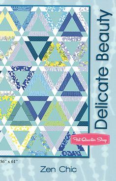 Delicate Beauty Quilt Pattern Zen Chic #ZC-DBQP