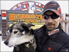 "Lance Mackey ~ 4 time Yukon Quest and 4 time Iditarod Champion.  ""If your gonna dream, dream big."""