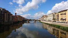 Aussicht vom Ponte Vecchio...