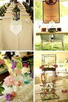 I LOVE everything about this wedding! EVERY SINGLE DETAIL!