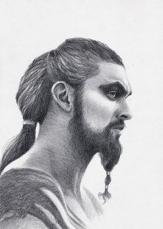 Game of Thrones fan art Original pencil drawing portrait of Khal Drogo actor Jason Momoa, gift for fans GOT by KorobovArt on Etsy Dessin Game Of Thrones, Game Of Thrones Drawings, Game Of Thrones Artwork, Game Of Thrones Fans, Khal Drogo, Pencil Portrait Drawing, Pencil Drawings, Drawing Portraits, Cool Ideas