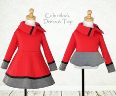 Couture patrons robes filles filles robe par MyChildhoodTreasures