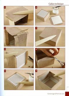 Perfect box with textile. How to make. DIY. Gifts. Keeping things. Orhanising.