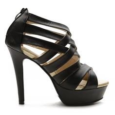 oh god yes - Check out this Ollio Womens Shoes Platform High Heels Black Sandal that I found on Ziftit. Black High Heel Sandals, Platform High Heels, Black Heels, Fab Shoes, Me Too Shoes, Women's Shoes, Wedge Boots, Shoe Boots, Fashion Heels