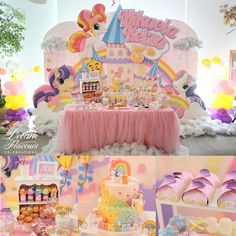 My Little Pony Party | Dream Flavours Celebrations #dreamflavours
