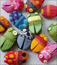 Sarah........seems like something you would be able to whip up!   fabric bugs