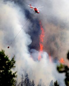 From the Daily Camera, Flagstaff Fire near Boulder - June 26, 2012