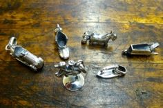 Sterling silver Monopoly charms.  Super cool.  $157