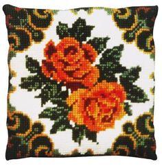 Подушка для вышивания Pako 003.111 Розы желтые