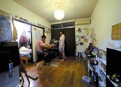 「きっかけはのら猫 専門学校で知り合ったおしゃれカップルの生活+ねこ(前編)」【COUPLE PHOTO】|TOKYO GRAFFITI WEB