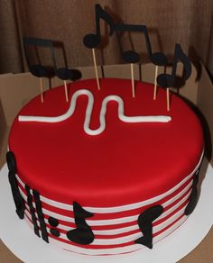 Musical.ly app cake