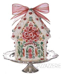 Three Easy Gingerbread Houses- like the first one and the tea cookie idea too.
