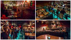 The SOS Tiki Bar collage