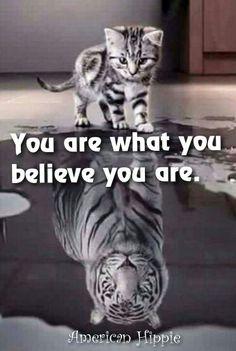 ☮ American Hippie ☮ Believe in yourself