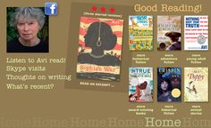Avi's website-- author of books for children and teens