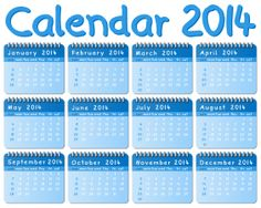 Happy New Year 2014 Calendar HD Wallpapers