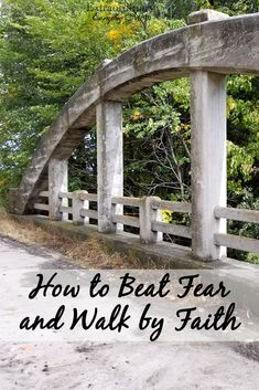 The journey to overcoming fear and walking by faith.