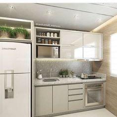 Que tal esta cozinha bem clarinha para inspirar a nossa segunda-feira? Inspiração @mais_interiores. Boa semana, pessoal! #mrv #mrvengenharia #exclusivita #cozinhasclaras