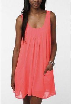 Frock Dress, Pin Tucks, Frocks, Urban Outfitters, Chiffon, Sparkle, Pullover, Summer Dresses, Mini