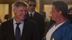 Expendables 3 release new Harrison Ford stills